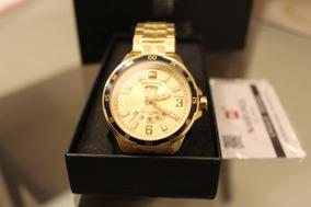Relógio Dourado Social