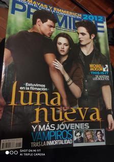 Revista Cine Premiere Luna Nueva Crepusculo +regalo