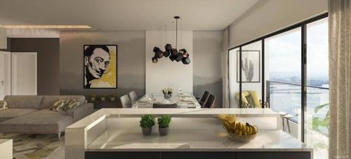 Imagem 1 de 14 de Cobertura Com 3 Dormitórios À Venda, 342 M² Por R$ 3.786.930,47 - Fazenda - Itajaí/sc - Co0210