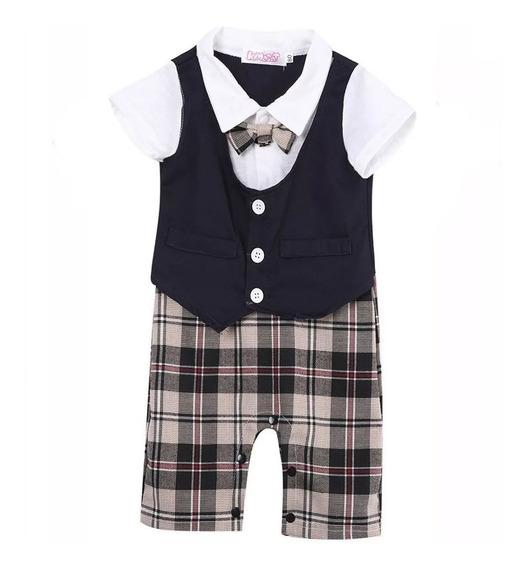 Traje Para Bebe Con Shorts Y Moño Formal Babynova T-20 :)