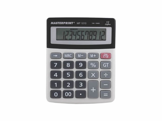 Calculadora Manual 12 Dígitos - Mp 1010
