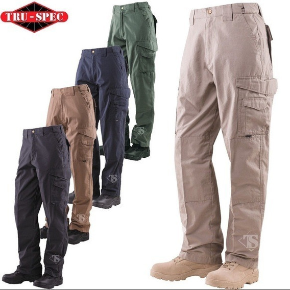 Pantalon Tactico Tipo Cargo Tru Spec