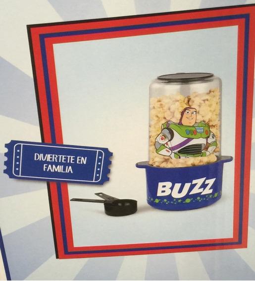 Maquina Para Hacer Palomitas Buzz Lightyear Con Taza Medidor
