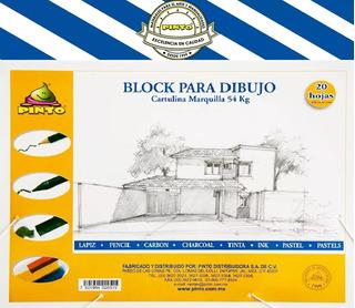 Block Para Dibujo Cartulina 100% Maquilla 42x59