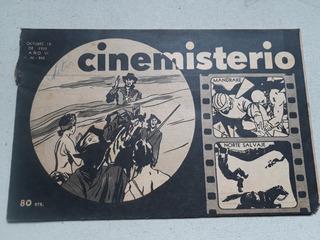 Antigua Revista Cinemisterio N° 262 Año 1955