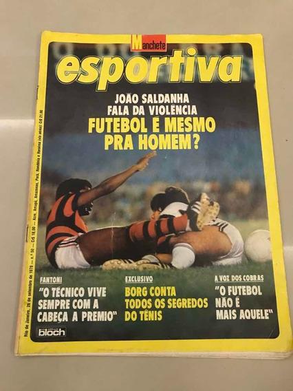 Revista Manchete Esportiva 50 26 Setembro Poster São Paulo