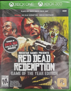 Red Dead Redemption Goty .-360 / One