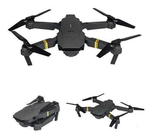 Imagen 1 de 6 de Drone E58 Películas Hd Wi Fi 360º Rotaciones 2 Baterías