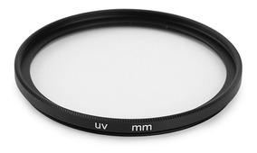 Filtro Uv Objetiva Lente 58mm Nikon Canon Sigma E Outras