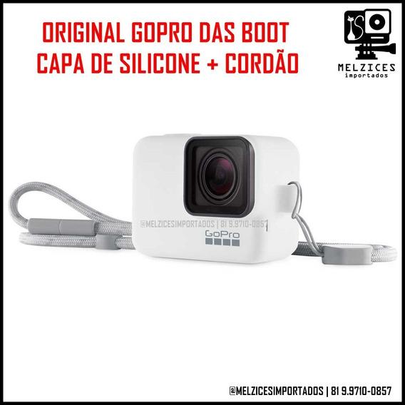 Original Capa De Silicone Gopro Preta + Cordão ( Das Boot )