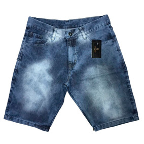 Kit 5 Bermudas Jeans Masculina 34 A 52 C/ Nota Fiscal