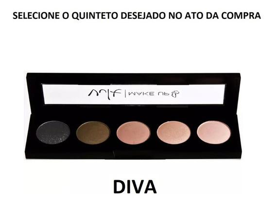 Quinteto De Sombras Vult Maquiagem Paleta Mistery