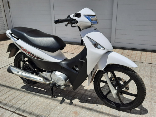 Honda Biz 125 2018 2950 Km Impecable Blanco