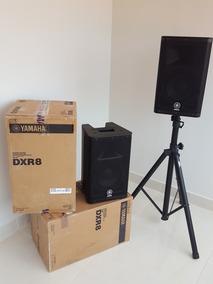 Yamaha Dxr8 (o Par) Em Estado De Novas