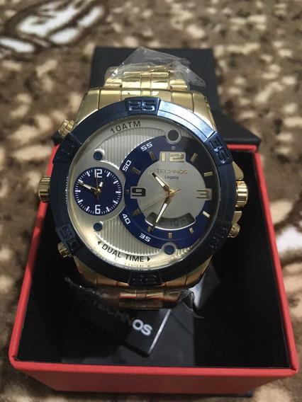 Relógio Technos Legacy Classic Dourado Digiana