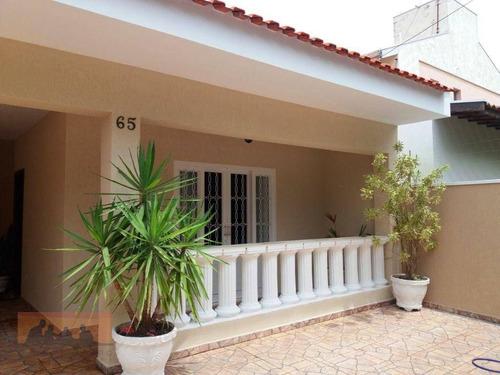 Imagem 1 de 17 de Casa Com 3 Dormitórios À Venda, 170 M² Por R$ 620.000,00 - Cidade Universitária Ii - Campinas/sp - Ca0024