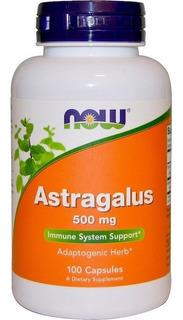 Astragalus 500mg 100 Caps Now Foods Envio Imediato