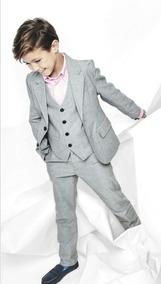 Blazer E Calça Pajens +colete +camisa E Gravata 12 A 16 Anos