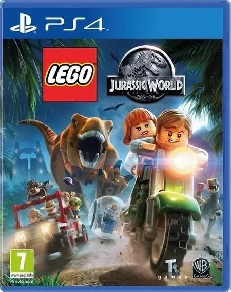 Lego Jurassic World O Mundo Dos Dinossauros Ps4 Digital 1
