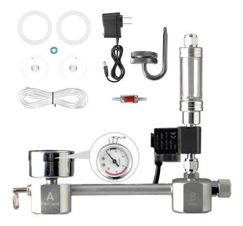 Sistema Generador De Co2 Para Acuarios Diy