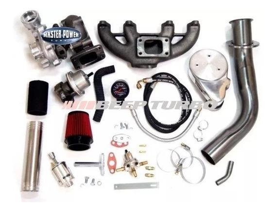 Kit Turbo Vw Ap Monofluxo Carburado 1.6/1.8/2.0 Turbina .42