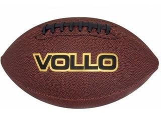 Bola De Futebol Americano Marrom (9) - Vollo Vf001