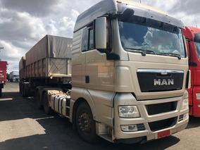 Man Tgx 29-480 6x4 Ano 2015/2016 Teto Alto Impecável