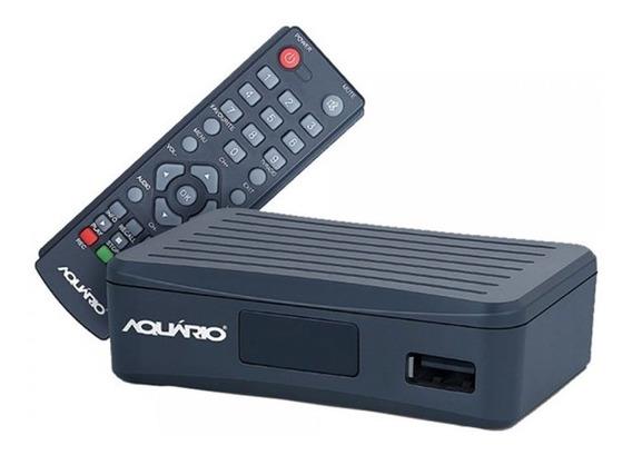 Conversor Digital Dtv 4000 Aquario Para Tv Gravador Full Hd