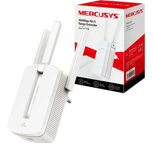 Imagem 1 de 4 de Repetidor Sinal Wi-fi Mercusys Mw300re 300mbps 3 Antenas