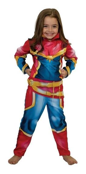 Disfraz Capitana Marvel - Original New Toys T.1