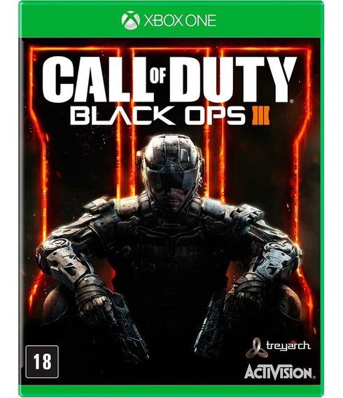 Call Of Duty Black Ops 3 Xbox One Jogo Físico Lacrado Novo