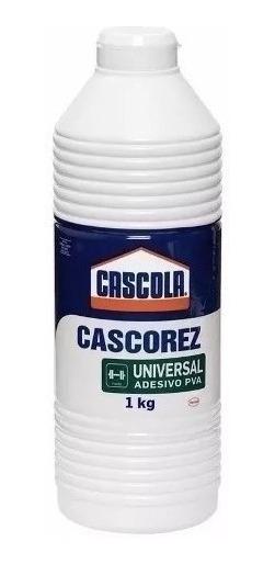 Cola Branca Cascorez Universal Adesivo Pva 1kg C/4 Peças