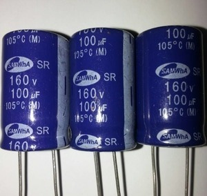 Capacitor Eletrolítico 100uf 160v Alta Qualidade