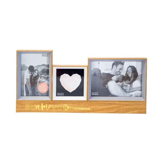 Porta Retrato Madeira Led Eu & Vc Definição De Amor - Uatt