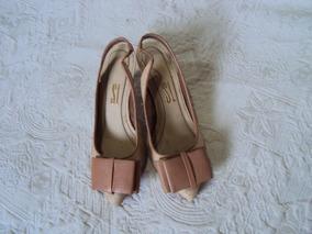 Sapato Santa Lolla Bege Tamanho 33