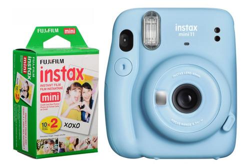 Câmera Instantânea Fujifilm Instax Mini 11 Azul + Filme
