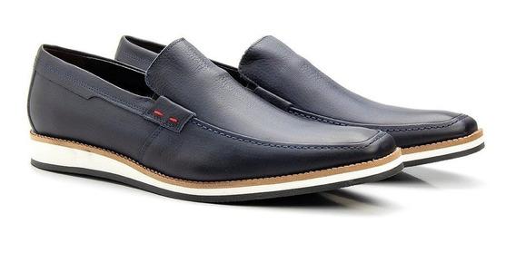 Sapato Social Masculino Fácil Calce Esporte Fino Casual 525