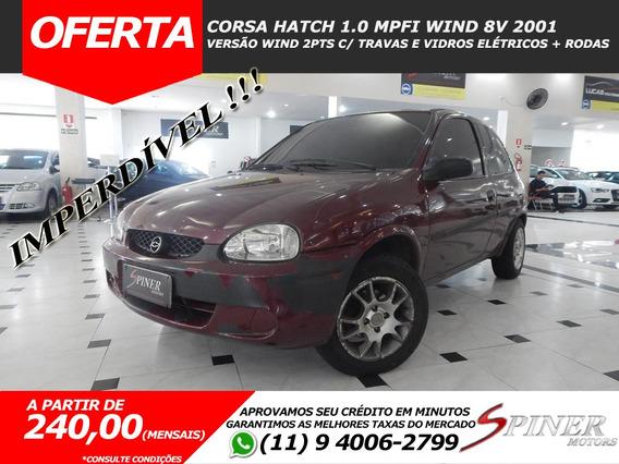 Chevrolet Corsa Hatch 1.0 Mpfi Wind 8v Excelente Estado