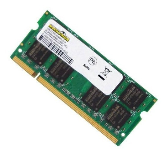 Memória P/ Notebook 1gb Ddr2 800mhz Markvision