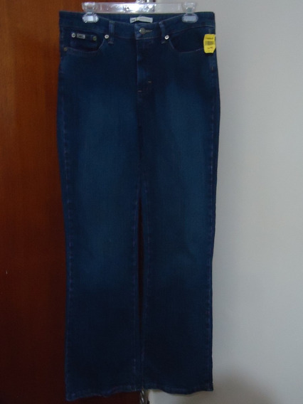 Pantalon De Mezclilla Strech Lee Dama 10 Seminuevo Impecable
