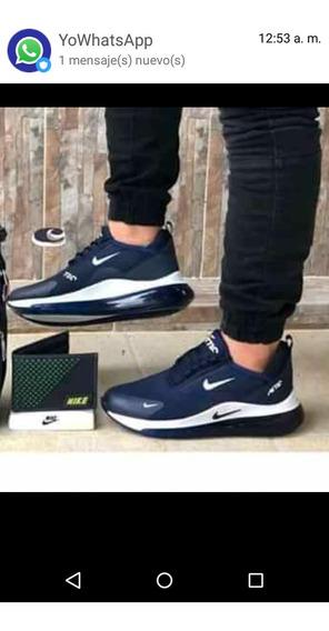 Zapatos Gomas Deportivos Nikw De Caballeros 40 Azul
