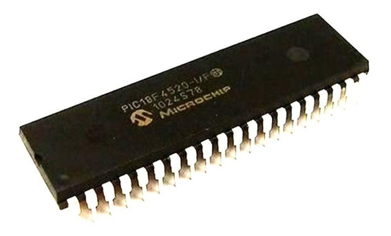 01 Microcontrolador Pic18f4520 Pic 18f 4520 18f4520 C Ass