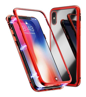 Protector 360 Magnetico Doble Vidrio iPhone X Xs Xr Xs Max