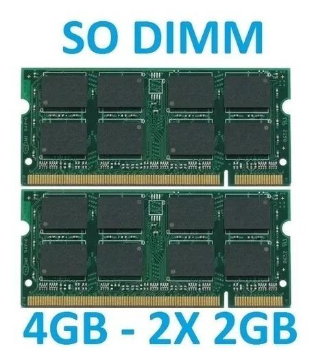 Memoria 4gb 2x 2gb iMac Intel Core 2 Duo 20 - 2006 2007 2008