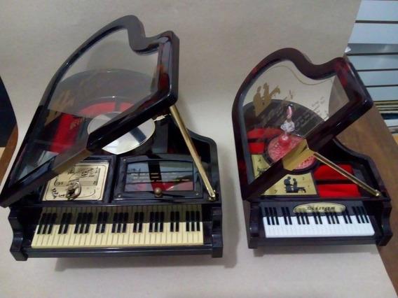 2 Caixas De Músicas E Porta Jóias.