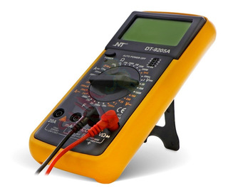 Multimetro Digital Profesional Nt Dt-9205a Resiste Caidas