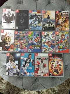 Juegos Para Nintendo Switch Y Otros (mario Kart Vendido)