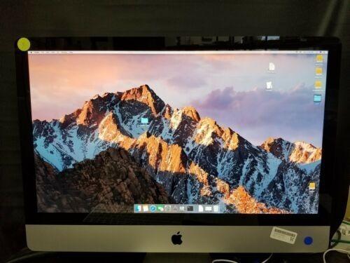 Apple iMac Mc784ll/a 27 Core I7 2.93ghz/16gb/2tb+ssd/radeon