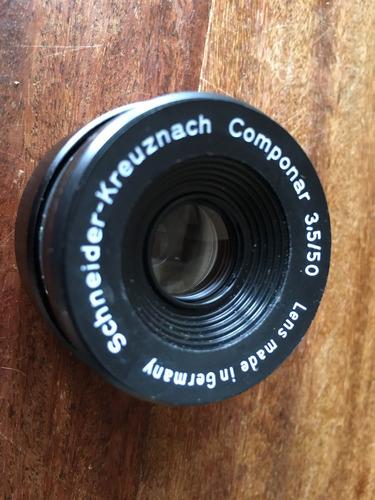 Lente Para Ampliadora Fotográfica Aleman 50mm 3,5 Componar