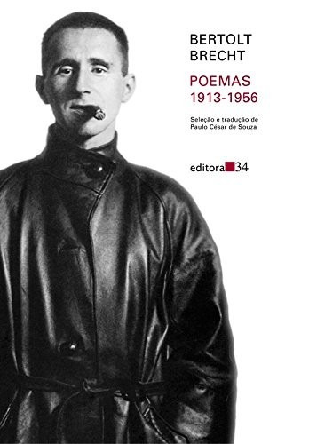 Livro Poemas 1913-1956 De Bertolt Brecht - Novo